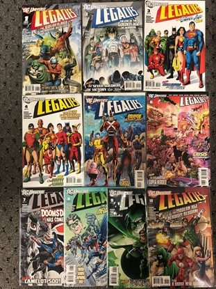 Picture of DC UNIVERSE LEGACIES 2010 #1-10 / WEIN-KUBERT-JONES-KOLINS