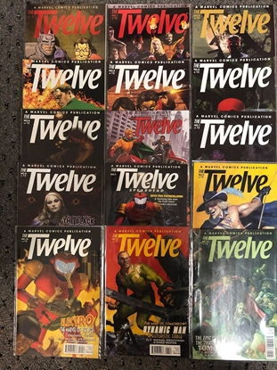 Picture of THE TWELVE 2007 #0,1-12 / STRACZYNSKI-WESTON / NM SET