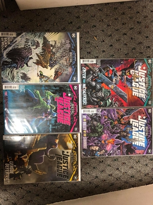 Picture of JUSTICE LEAGUE #53 54 55 56 57 1ST PRINT SET / DARK NIGHTS DEATH METAL