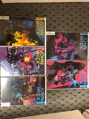 Picture of JOHN WICK 2017 #1 2 3 4 5 / COVER A 1ST PRINT SET / IDW COMICS NM