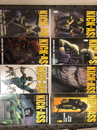 Picture of KICK-ASS 2018 #1 2 3 4 56 7 8 / MARK MILLAR-ROMITA JR-STEVE NILES