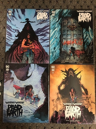 Picture of WONDER WOMAN DEAD EARTH #1 2 3 4 / COVER A SET / DC BLACK LABEL NM