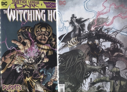 Picture of JUSTICE LEAGUE DARK WONDER WOMAN WITCHING HOUR #1 COVER A+B SET