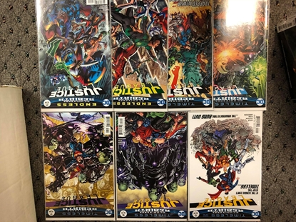 Picture of JUSTICE LEAGUE REBIRTH 2016 #15 16 17 18 19 20 21 / TIMELESS-ENDLESS / NM