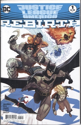 Picture of JUSTICE LEAGUE OF AMERICA REBIRTH #1 RYAN OTTLEY VARIANT COVER ONE-SHOT
