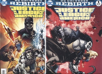 Picture of JUSTICE LEAGUE OF AMERICA REBIRTH #1 / COVER A + B VARIANT SET NM