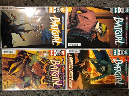 Picture of BATGIRL #47 A 48 A 49 A 50 2ND PRINT JOKER WAR COLLATERAL DAMAGE NM