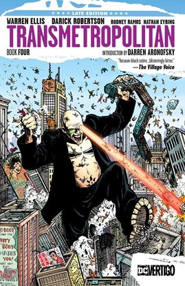 Picture of TRANSMETROPOLITAN BOOK FOUR TP