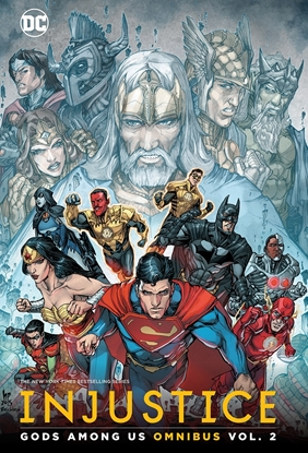 Picture of INJUSTICE GODS AMONG US OMNIBUS VOL 2 HC