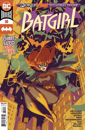 Picture of BATGIRL #50 2ND PRINT RILEY ROSSMO VARIANT COVER
