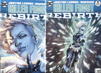 Picture of JUSTICE LEAGUE OF AMERICA: KILLER FROST REBIRTH #1 COVER A + B SET