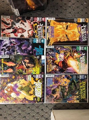 """Picture of JUSTICE LEAGUE DARK #8 9 10 11 12 13 ANNUAL #1 """"LORDS OF ORDER"""""""