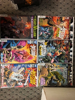 """Picture of JUSTICE LEAGUE DARK #14 15 16 17 18 19 """"THE WITCHING WAR"""" SET NM"""