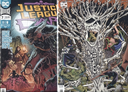 Picture of JUSTICE LEAGUE DARK 2018 #7 COVER A + B SET