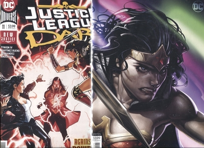 Picture of JUSTICE LEAGUE DARK 2018 #11 COVER A + B SET