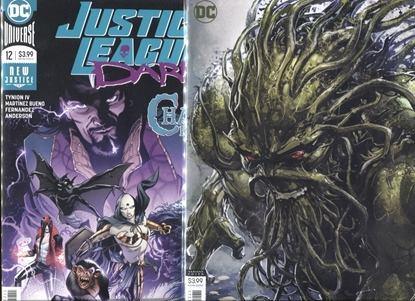 Picture of JUSTICE LEAGUE DARK 2018 #12 COVER A + B SET