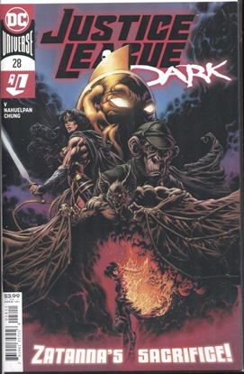 Picture of JUSTICE LEAGUE DARK 2018 #28 COVER A KYLE HOTZ