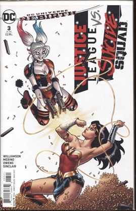 Picture of JUSTICE LEAGUE SUICIDE SQUAD #3 (OF 6) AMANDA CONNER COVER B