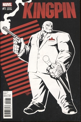 Picture of KINGPIN #1 1:25 TORRES VARIANT COVER