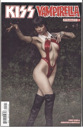 Picture of KISS VAMPIRELLA #2 (OF 5) COVER D COSPLAY