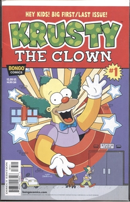 Picture of KRUSTY THE CLOWN (ONE SHOT) #1