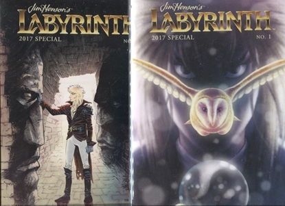 Picture of JIM HENSON LABYRINTH 2017 SPECIAL #1 COVER A + SUB SET