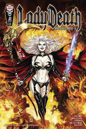 Picture of LADY DEATH APOCALYPTIC ABYSS #2 (OF 2) STANDARD COVER (MR)