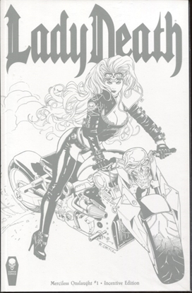 Picture of LADY DEATH MERCILESS ONSLAUGHT #1 INCENTIVE EDITION