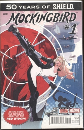 Picture of 50 YEARS OF SHIELD MOCKINGBIRD #1 2ND PRINT