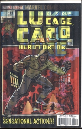 Picture of LUKE CAGE #166 JOHNSON LENTICULAR COVER VARIANT
