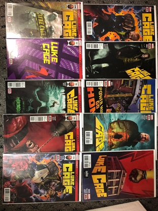 Picture of LUKE CAGE 2017 #1-5 166-170 LEGACY SET