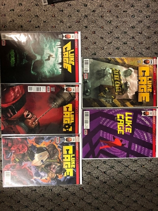 Picture of LUKE CAGE 2017 #166 167 168 169 170 LEGACY SET NM
