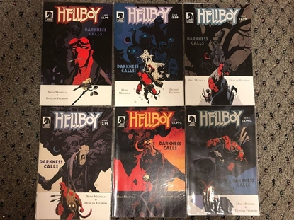 Picture of HELLBOY DARKNESS CALLS  (2007) #1-6 SET NM-