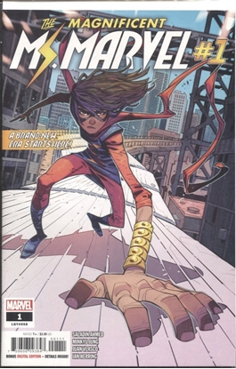 Picture of MAGNIFICENT MS MARVEL #1