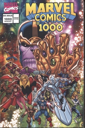 Picture of MARVEL COMICS #1000 RON LIM 90S VARIANT