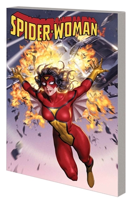 Picture of SPIDER-WOMAN TP VOL 1 BAD BLOOD