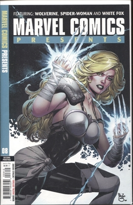 Picture of MARVEL COMICS PRESENTS #8 2ND PRINT SEQUEIRA VARIANT