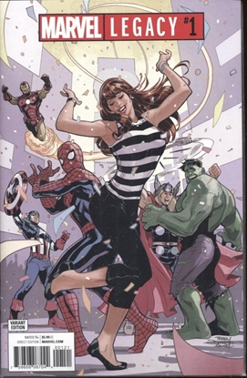 Picture of MARVEL LEGACY #1 TERYR DODSON PARTY VARIANT COVER