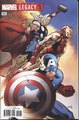Picture of MARVEL LEGACY #1 GREG LAND VARIANT COVER