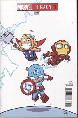 Picture of MARVEL LEGACY #1 SKOTTIE YOUNG VARIANT COVER
