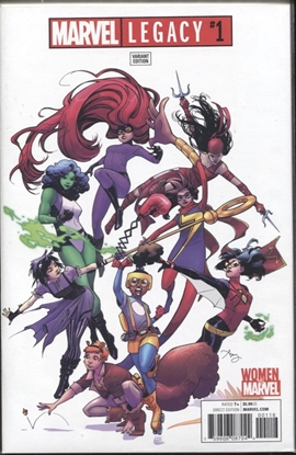 Picture of MARVEL LEGACY #1 1:25 REEDER WOMEN OF MARVEL VARIANT COVER
