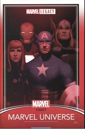 Picture of MARVEL LEGACY #1 CHRISTOPHER TRADING CARD VARIANT COVER