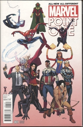 Picture of ALL NEW ALL DIFFERENT POINT ONE #1 MARQUEZ VARIANT COVER B