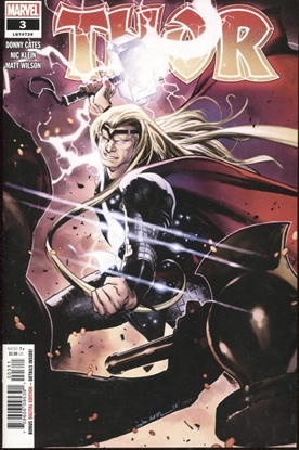 Picture of THOR (2019) #3 / 1ST PRINT / BLACK WINTER DONNY CATES NM+