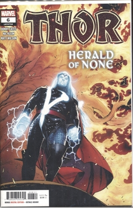 Picture of THOR (2019) #6 / 1ST PRINT / DONNY CATES BLACK WINTER NM