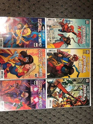 Picture of MARVEL TEAM-UP (2019) #1-6 1ST PRINT SET NM