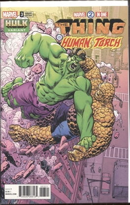 Picture of MARVEL TWO-IN-ONE #3 HAWTHORNE HULK VARIANT COVER