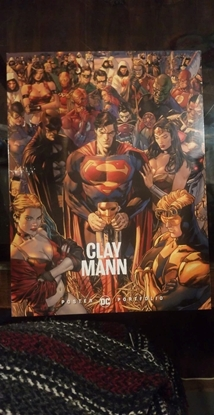 Picture of DC POSTER PORTFOLIO CLAY MANN TP