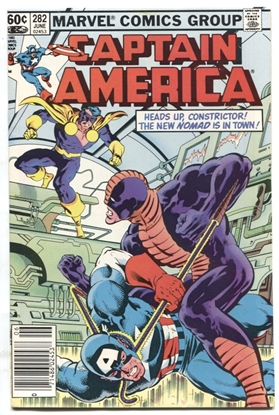 Picture of CAPTAIN AMERICA (1968) #282 9 VF/NM