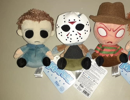 Picture of FUNKO MOPEEZ HORROR SET OF 4 JASON FREDDY MICHAEL MYERS NEW W/ TAGS